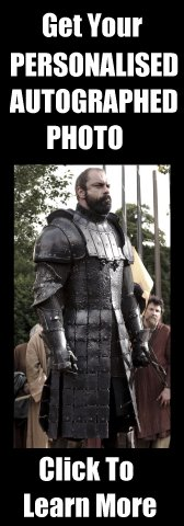 Personalised Autographed Photo Of Conan Stevens